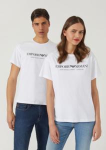 Печать на футболке белой «Унисекс»