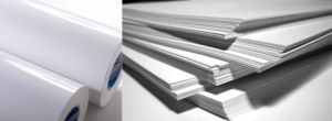 Печать на мелованной бумаге